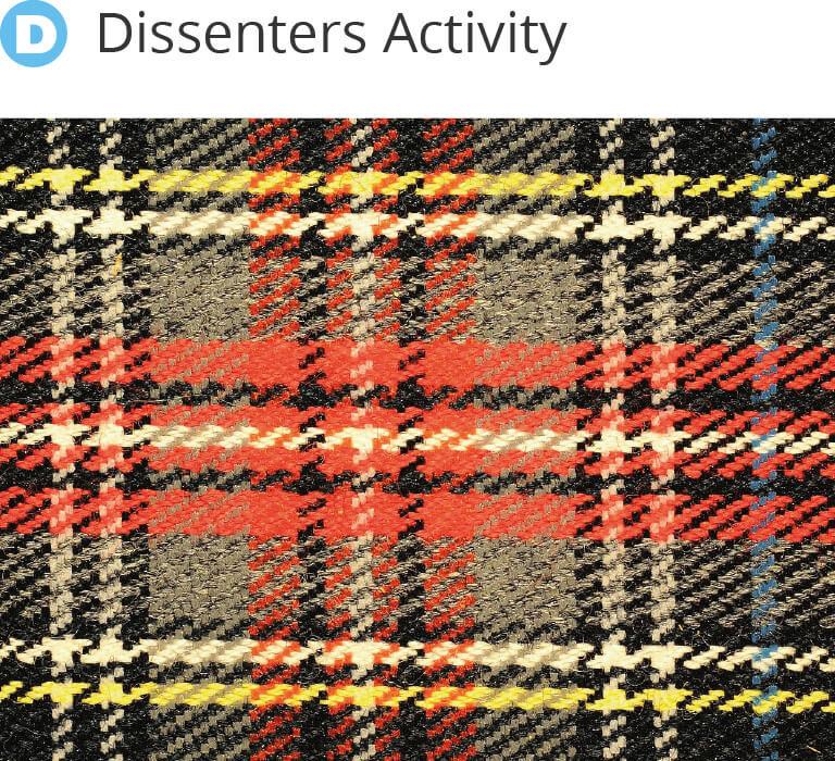 Dissenters Activity - Burns Night