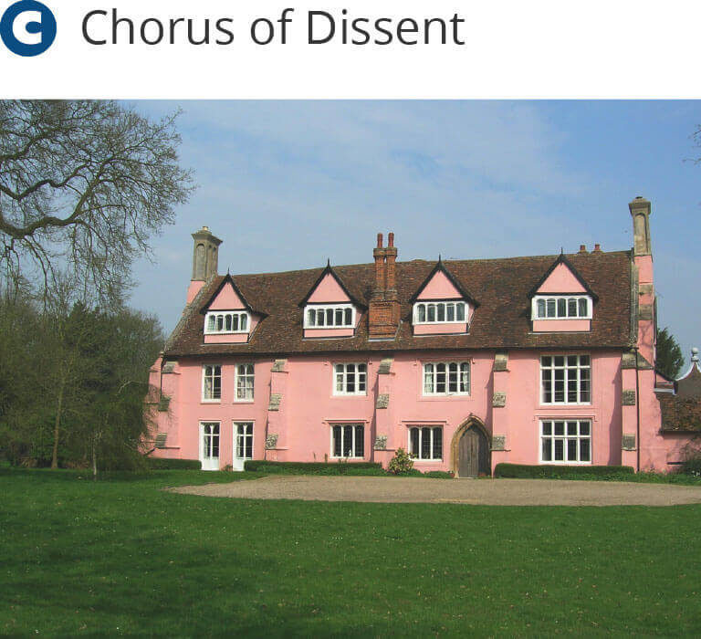 Clare Priory - Chorus of Dissent choir visit