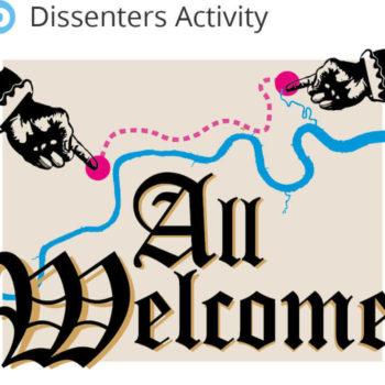 Refugee Tales Walk - Dissenter Activity