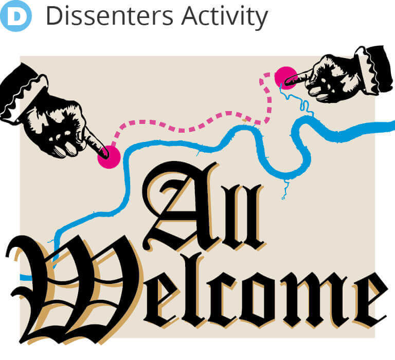 Refugee Tales Walk - Dissenter Activity