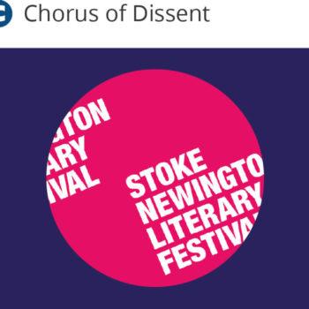 Chorus of Dissent - Lit Fest - 2016 - Dissenters N16