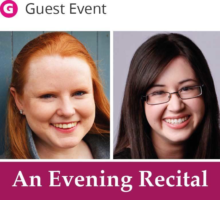 An evening recital - Harriet Burns and Krystal Tunnicliffe