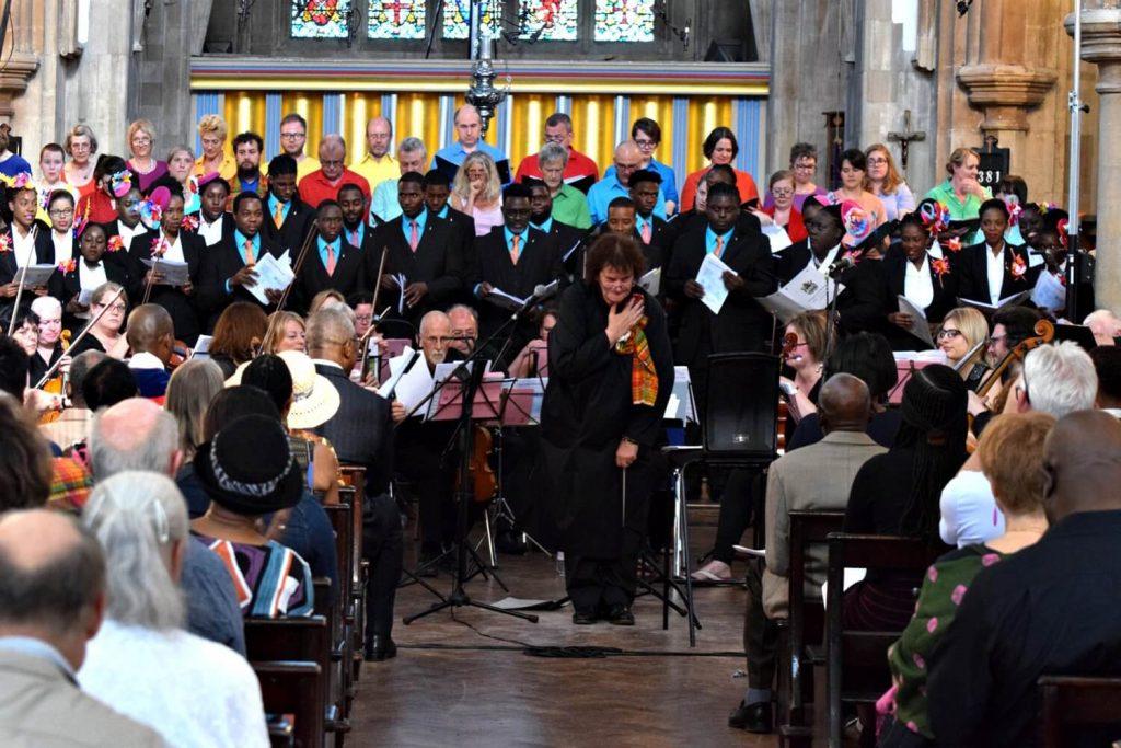 Antigua and Barbuda National Youth Choir at St Matthias
