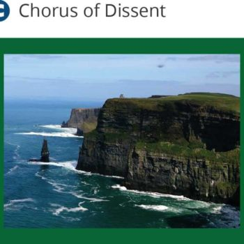 Galway trip - Chorus of Dissent - Galway coastline