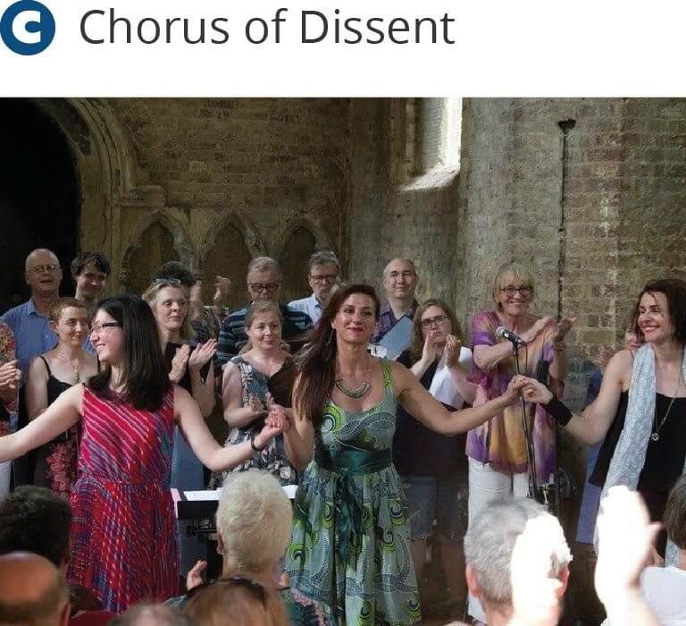 Chorus of Dissent - at Abney - Midsummer music