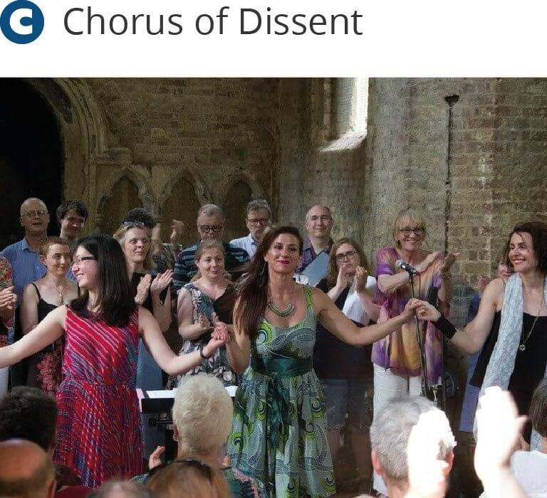 Chorus of Dissent - at Abney - Midsummer music