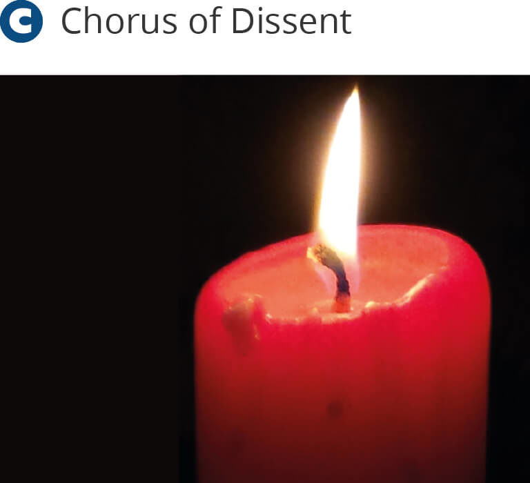 Chorus of Dissent Christmas Concert 2015