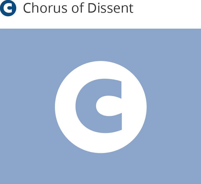 Chorus of Dissent placeholder