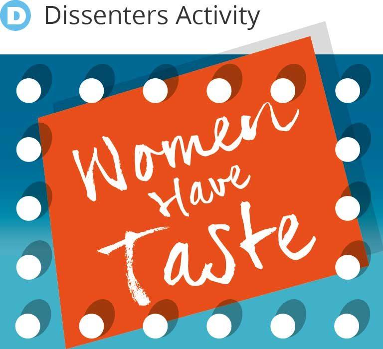 Women Have Taste - WHAT CLUB graphic