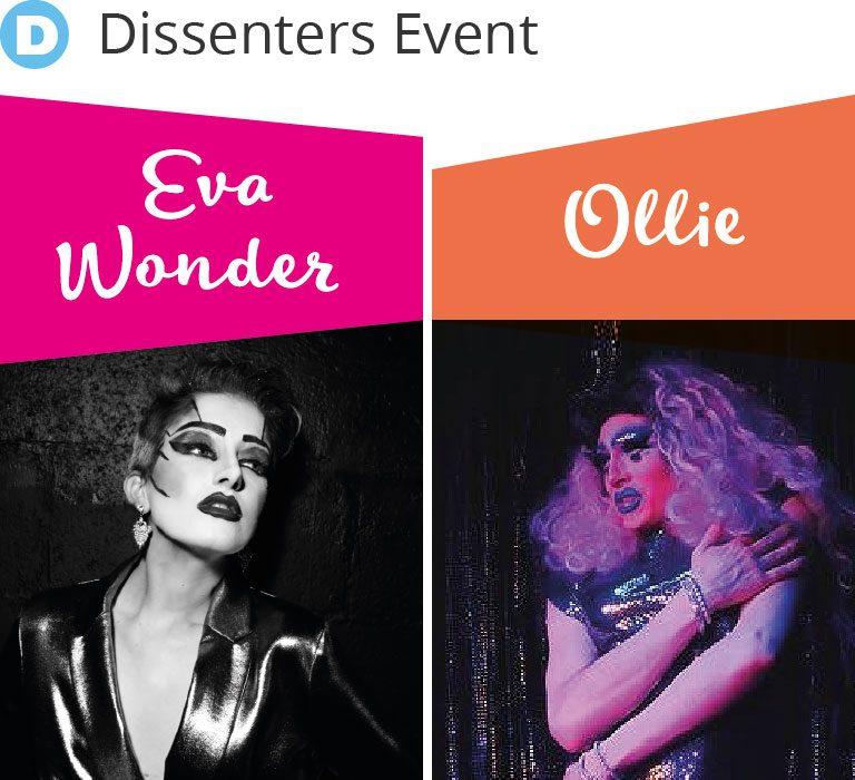 Drag kings Ollie and Eva Women Have Taste