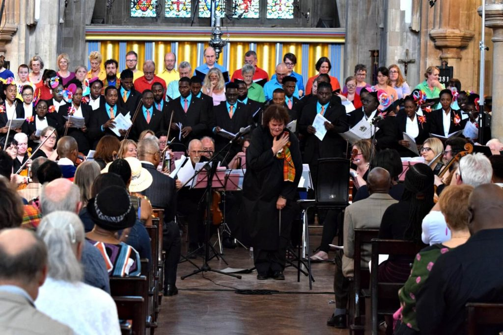 Antigua and Barbuda National Youth Choir at St Matthias