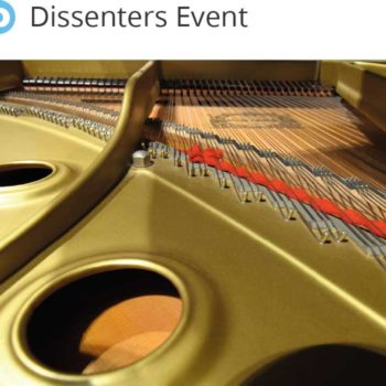 Dissenters' fundraiser for the grand piano